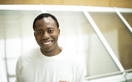 Nnamdi Egwuonwu, a journalism student who worked as a peer mentor in Mizzou's TRiO program, graduates this weekend.